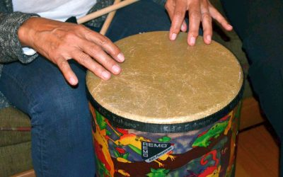 Saying Yes to Something New: Summer Drum Circle