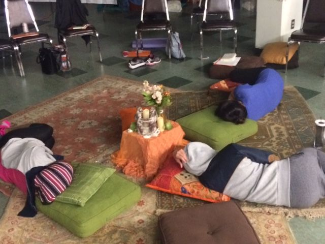 Women Napping at Transform